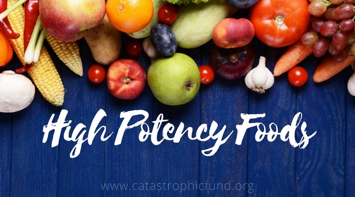 high potency foods