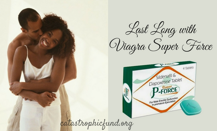 Last Long with Viagra Super Force